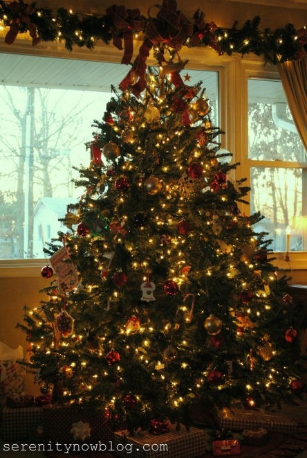 Christmas Tree Decorations Serenity Now blog 1