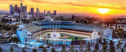 Dodger Stadium Cover